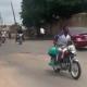 Hoodlums Break Into Senator Teslim Folarin's House, Cart Away New Bikes (Video)