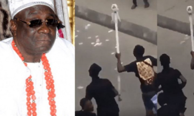 Oba Of Lagos' Staff Of Office Reappears (Video) 5