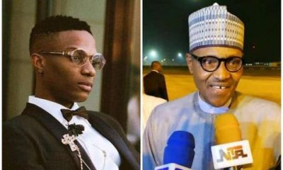 Wizkid Claps Back At Buhari's Aide Who Called Him 'Dumbkid'