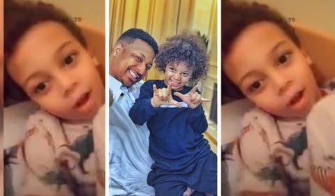 """Girls Are Wahala, They Are Chasing Me"" – Ik Ogbonna's 5-Year-Old Son (Video)"