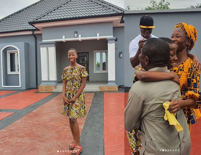 Kid Comedienne, Emmanuella Builds Her Mother A House (Photos)