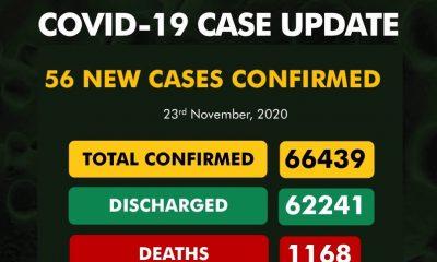 Nigeria Records 56 New Cases Of Coronavirus 1