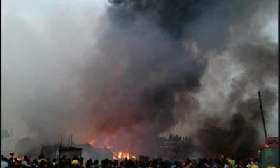 Goods Worth Millions Destroyed As Fire Guts Otukpo Main Market 51