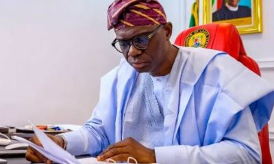 Governor Sanwo-Olu Signs Executive Order To Rebuild Lagos After #EndSARS Protests