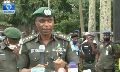 When Your Life Is In Danger, Use Your Firearm- IGP Adamu Mohammed Tells Police Officers (Video)
