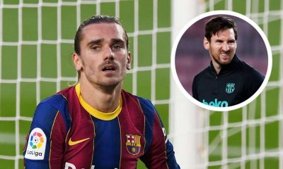 Messi Didn't See Griezmann's Arrival With A Good Eye - Olhats