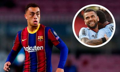 'Pass The Ball To Messi Whenever You Can' - Dani Alves Advises Dest