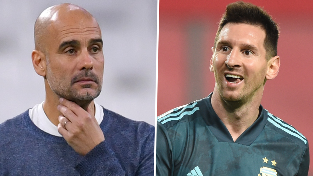 'I Want Messi To Finish His Career At Barcelona' - Pep Guardiola