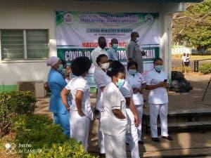 Nigeria Begins Coronavirus Vaccination (Photos) 6